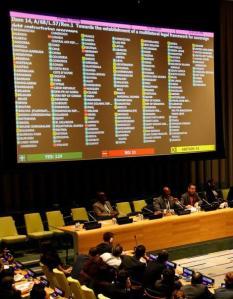 ΟΗΕ ψηφοφορία για χρεωκοπία
